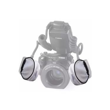 Imagem de Difusor Para Flash Twin Nikon Canon Yongnuo Universal 2 Pçs