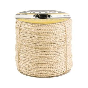 50m corda sisal naturale 16mm