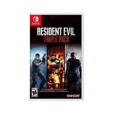 Resident Evil Triple Pack Jogo para Nintendo Switch-41013