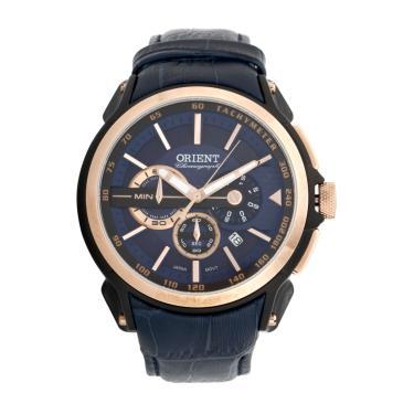4ff78520634 Relógio Orient MTSCC029-D1DX Dourado Azul Orient MTSCC029-D1DX masculino