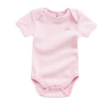 d2e56c2552 Body bebê unissex em suedine BODY MANGA CURTA UNISSEX