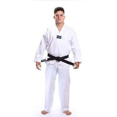 Kimono dobok Taekwondo Gola Branca - Torah
