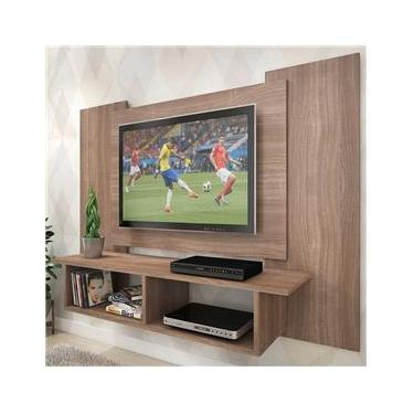 Painel Para Tv Até 48 Polegadas Bahia 2 Nichos Teka - Pnr Móveis