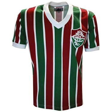 Camisa Liga Retrô Fluminense Mundial 1952