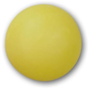Bolinhas De Ping Pong Amarela Pote Com 48 Unidades