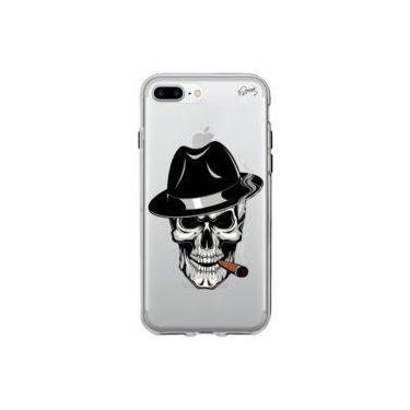 Capa Personalizada para Iphone 7 Plus - CAVEIRA CHARUTO - Quark
