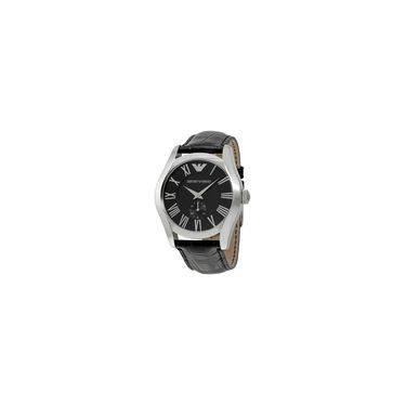 80275bf9ba7 Relógio Emporio Armani - Har0643n - Analógico - Caixa Em Aço E Pulseira Em  Couro