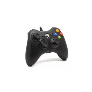 Controle C/ Fio Pc Xbox 360 Slim Joystick Original Feir/knup