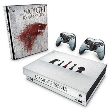 Skin Adesivo para Xbox One X - Game Of Thrones #A