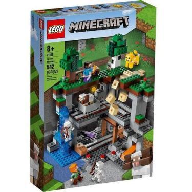 Imagem de Lego Minecraft Primeira Aventura 21169 - Hasbro