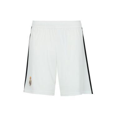 Calção Real Madrid I 18 19 adidas - Masculino - BRANCO adidas 57138001761cf