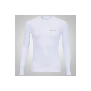 Camisa Térmica Manga Longa Adams - Masculina - BRANCO Adams efaf8dbb2f616