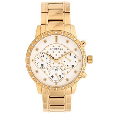 Relógio Guess 92670LPGSDA1 Dourado Branco Guess 92670LPGSDA1 feminino d0ad68b8c0