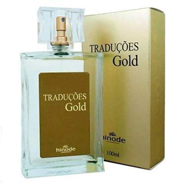 Imagem de Perfume Feminino Traduções Gold Nº10 Nova Embalagem Hinode