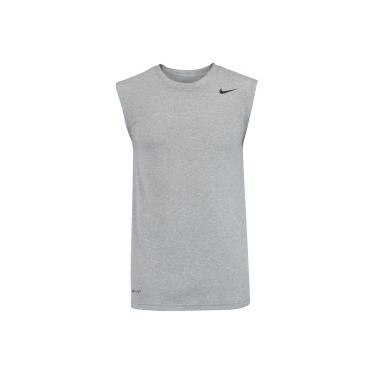 e64bbb3479dc5 Camiseta Regata Nike Legend 2.0 SL - Masculina - CINZA Nike