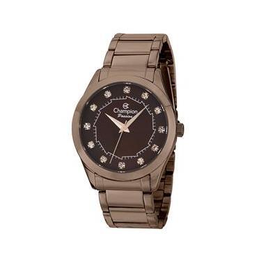 6a0b8da022f Relógio Feminino Analógico Champion CH24759R - Chocolate