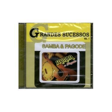 Imagem de Cd Grandes Sucessos Samba E Pagode Vol.1