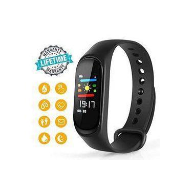Relógio Smartband Bracelet Pulseira Inteligente M3 Batimentos Cardíacos