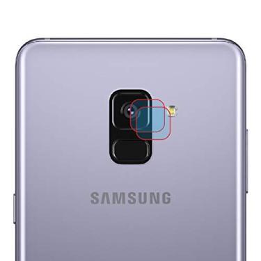 Pelicula Hprime para camera LensProtect para Samsung Galaxy A8 Plus 2018, Hprime, Película Protetora de Tela para Celular, Transparente