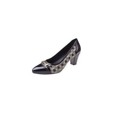 97f50b36e Sapato Até R$ 50 Feminino Preto   Moda e Acessórios   Comparar preço ...