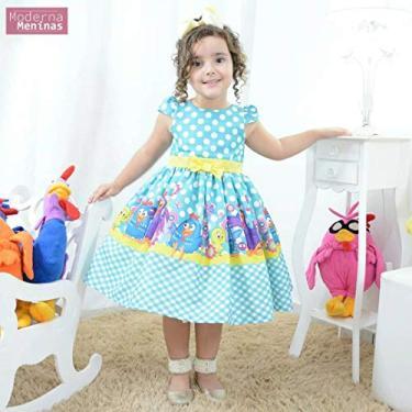 Vestido festa infantil da galinha pintadinha - Festa