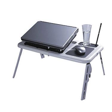Imagem de Mesa Portátil Para Notebook Com Cooler (Branco)