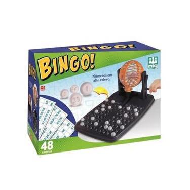 Imagem de Jogo Divertido Bingo 48 Cartelas - Nig Brinquedos