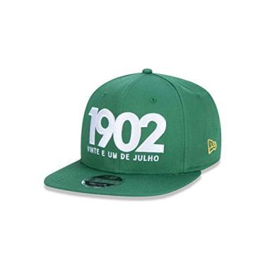 Bone 9fifty Original Fit Aba Reta Ajustavel Fluminense Futebol Basic Vermelho Escuro Aba Reta Snapback Verde New Era