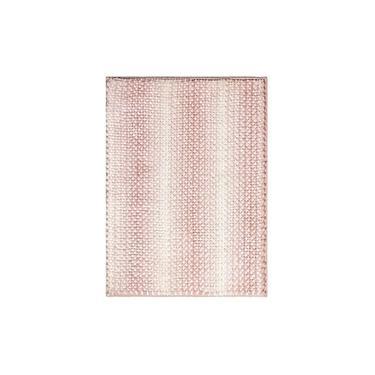 Imagem de Tapete Banheiro Antiderrapante Rosa 45cmx1,20cm Kacyumara