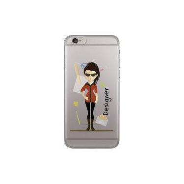 Capa para iPhone 6 Plus e 6S Plus - Mycase Designer - Mulher - Profissões
