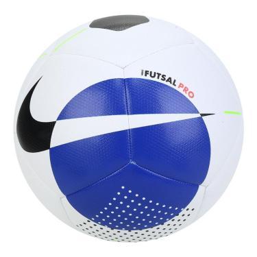 Bola de Futebol Futsal Nike Pro SC3971-102, Cor: Branco/Preto, Tamanho: PRO