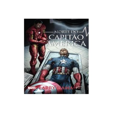 A Morte do Capitão América - Volume 1 - Larry Hama - 9788542808001