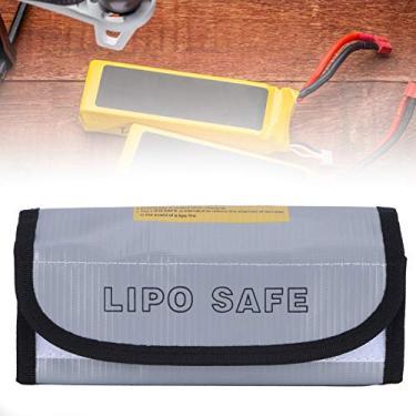 Bolsa segura para bateria, bolsa segura para bateria, prata para casa