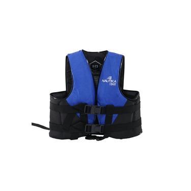Colete Salva Vidas Nautika Coast Até 30kg Azul E Preto