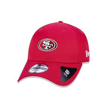 BONE 9FORTY ABA CURVA AJUSTAVEL NFL SAN FRANCISCO 49ERS ABA CURVA SNAPBACK VERMELHO NEW ERA