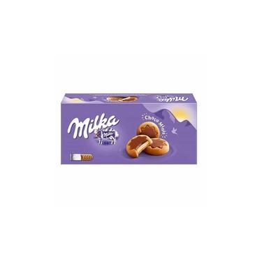 Biscoito Milka Recheio De Creme E Chocolate Choco Minis 150G
