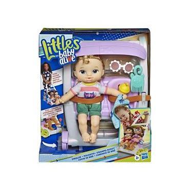 Imagem de Carrinho De Boneca - Baby Alive Littles - Loira E7182 Hasbro