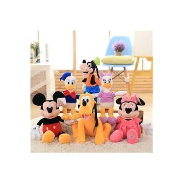 Imagem de Kit 6 Pelúcias Turma Do Mickey 30cm Original Disney Store///