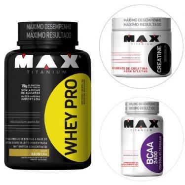160334d2b Suplementos e Complementos Alimentares Max Titanium Whey Protein ...