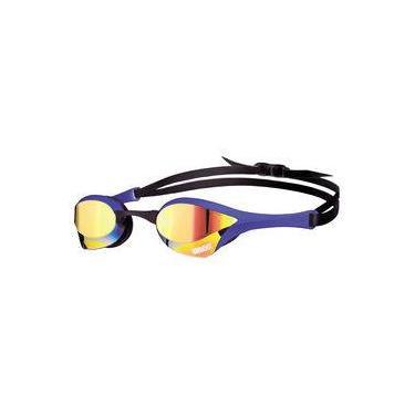 Óculos de natação Cobra Ultra Mirror Arena / Azul-Amarelo