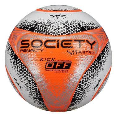 ddb8a6e4c09f1 Bola de Society Penalty S11 Pró Astro Kick Off VIII