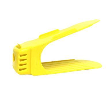Organizador de Sapato Rack com 20 unidades Amarelo