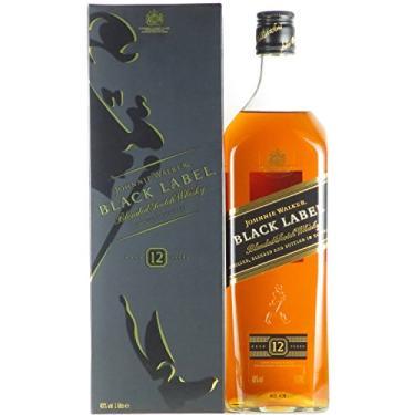 WHISKY J. WALKER BLACK LABEL 12 anos 1000ML