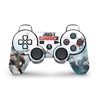 Skin Adesivo para PS3 Controle - Just Cause 2