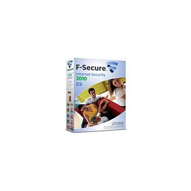 F Secure Internet Security  p/ 1 PC 2010 - F Secure