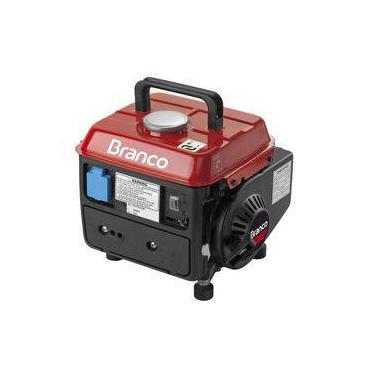 Gerador de Energia à Gasolina MONOFÁSICO B2T-950S - BRANCO