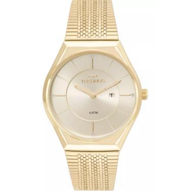 9d580bf13ea Relógio Feminino Technos GL15AR 4X - Dourado