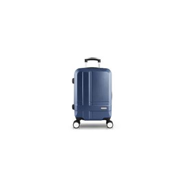 Imagem de Mala de Bordo para Viagem Executiva Azul Jacki Design
