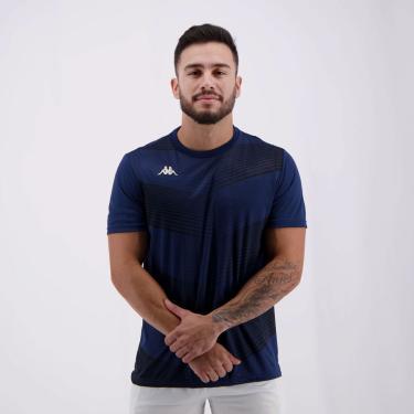 Camisa Kappa Field Marinho - M