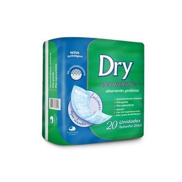 Absorvente Geriátrico Dry Economics 20 Unidades